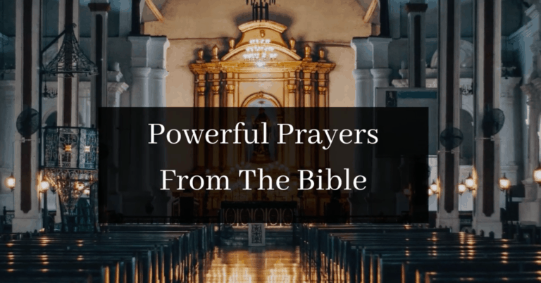 Powerful Prayers From The Bible